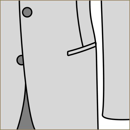 パイピングポケット