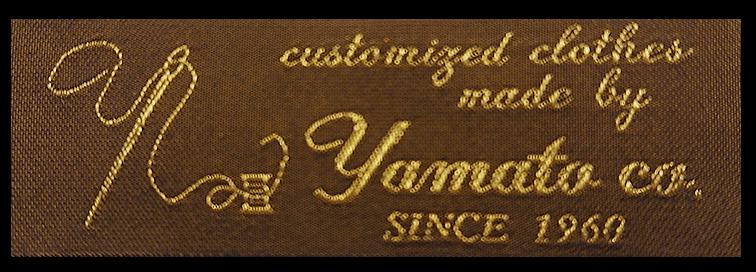 紳士服のヤマトのタグ